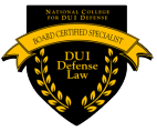DUI Defense Certified Specialist